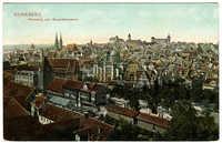Nürnberg, Panorama vom Gewerbemuseum