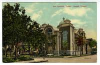 San Antonio, Texas. Jewish Temple