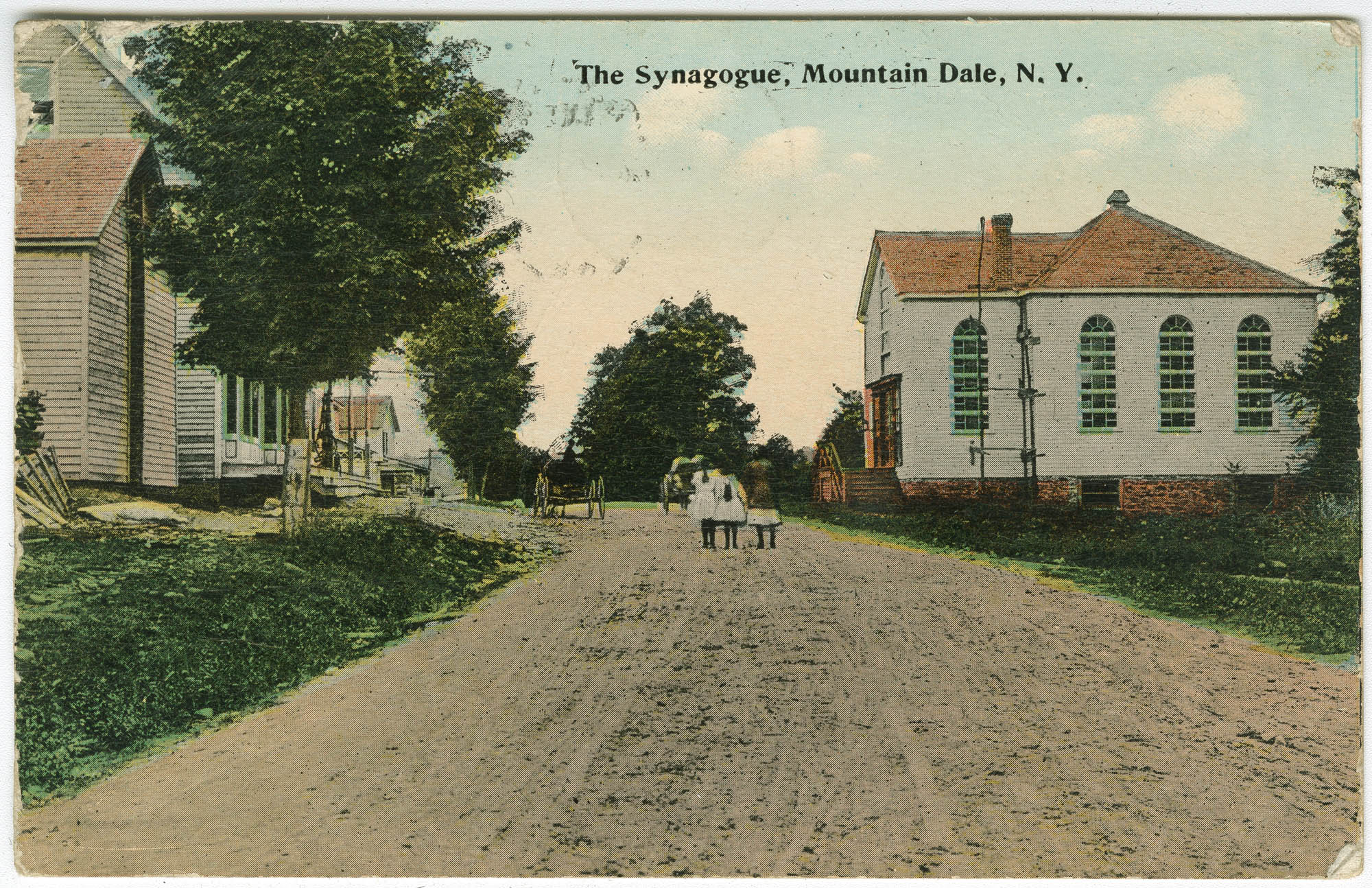 The Synagogue, Mountain Dale, N.Y.