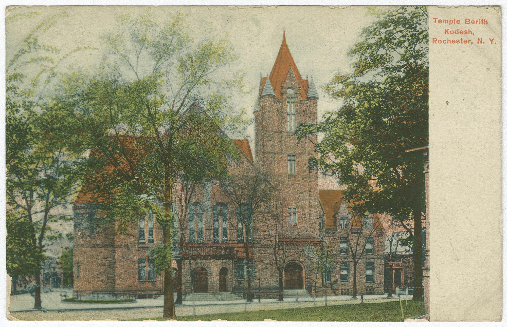 Temple Berith Kodesh, Rochester, N.Y.