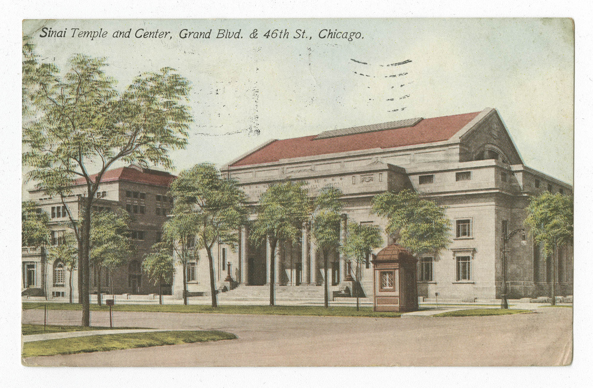 Sinai Temple and Center, Grand Blvd. & 46th St., Chicago