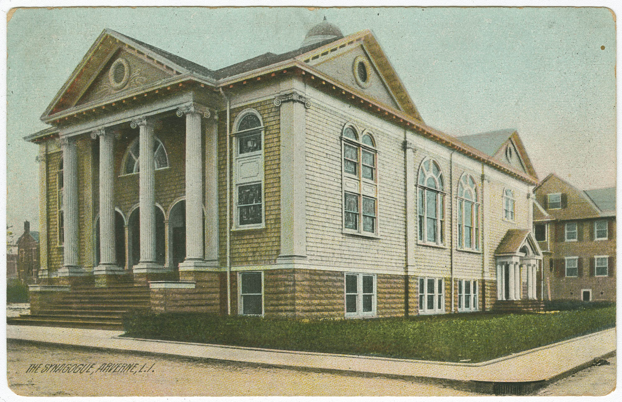 The synagogue, Arverne, L.I.