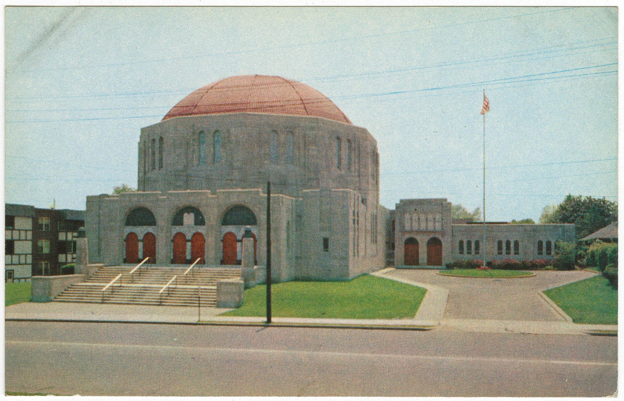 Temple Beth Israel and Silberman Memorial Chapel, Hartford, Conn.