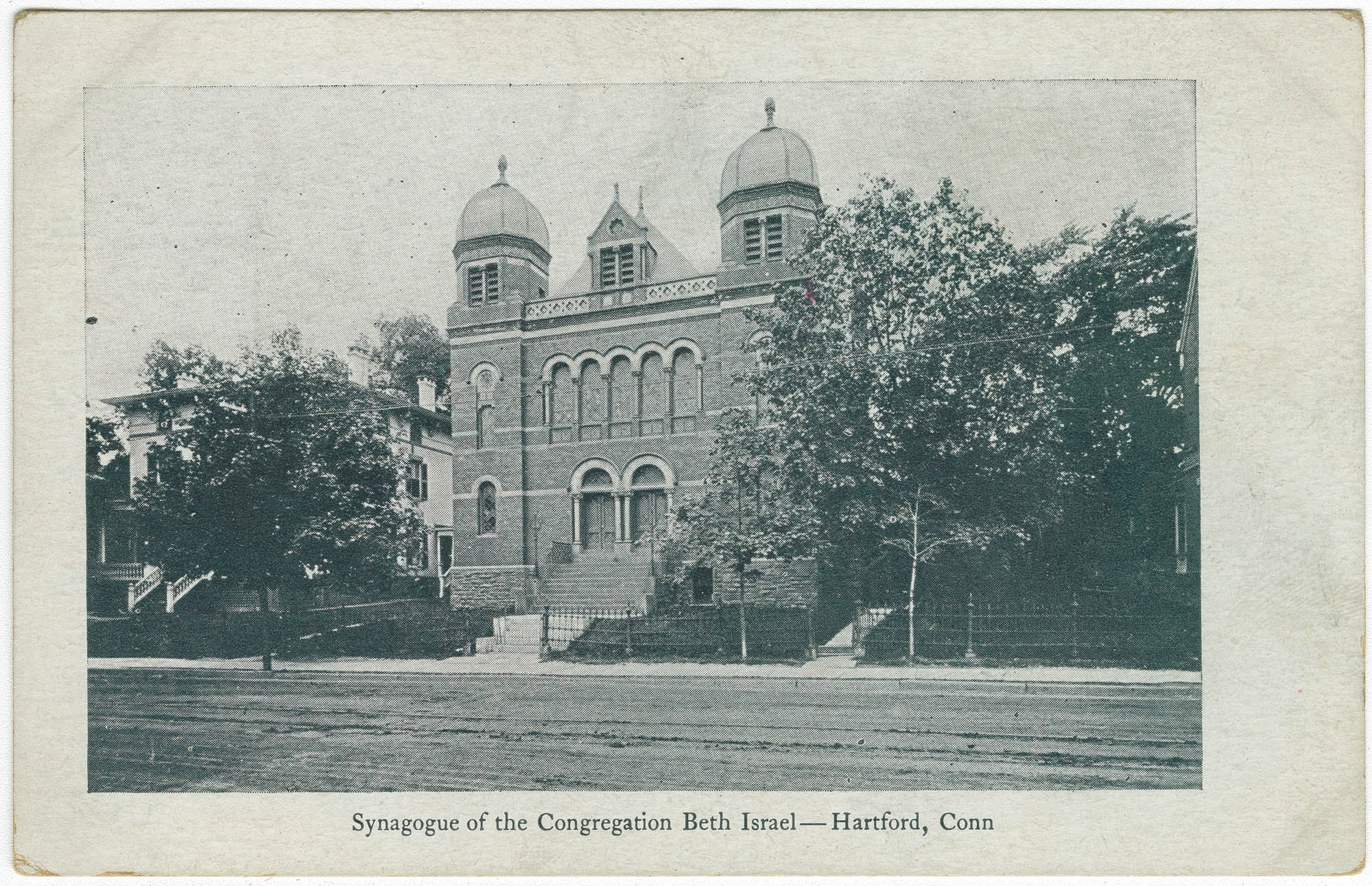 Synagogue of the Congregation Beth Israel - Hartford, Conn