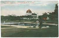 Boys Lake, Central Park and Temple Beth-El, N.Y. City