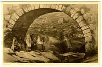 Les Tombes juives à Bab el Oued. Le tombeau de Barchichat 1492.