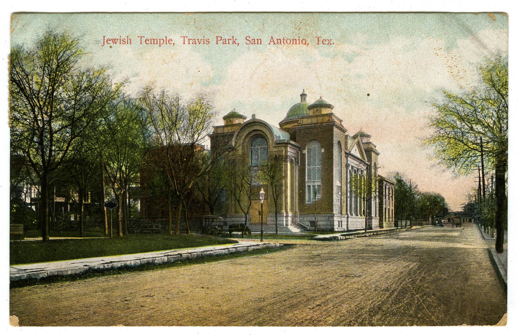 Jewish Temple, Travis Park, San Antonio, Tex.