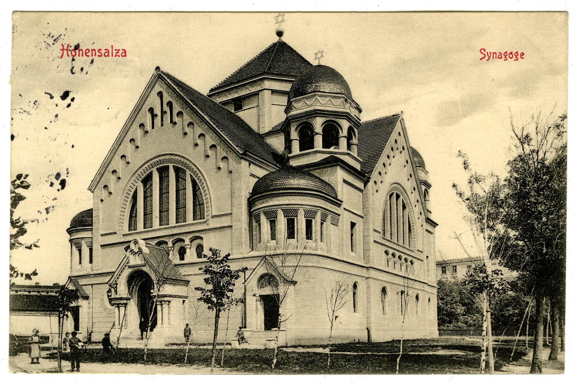 Hohensalza, Synagoge