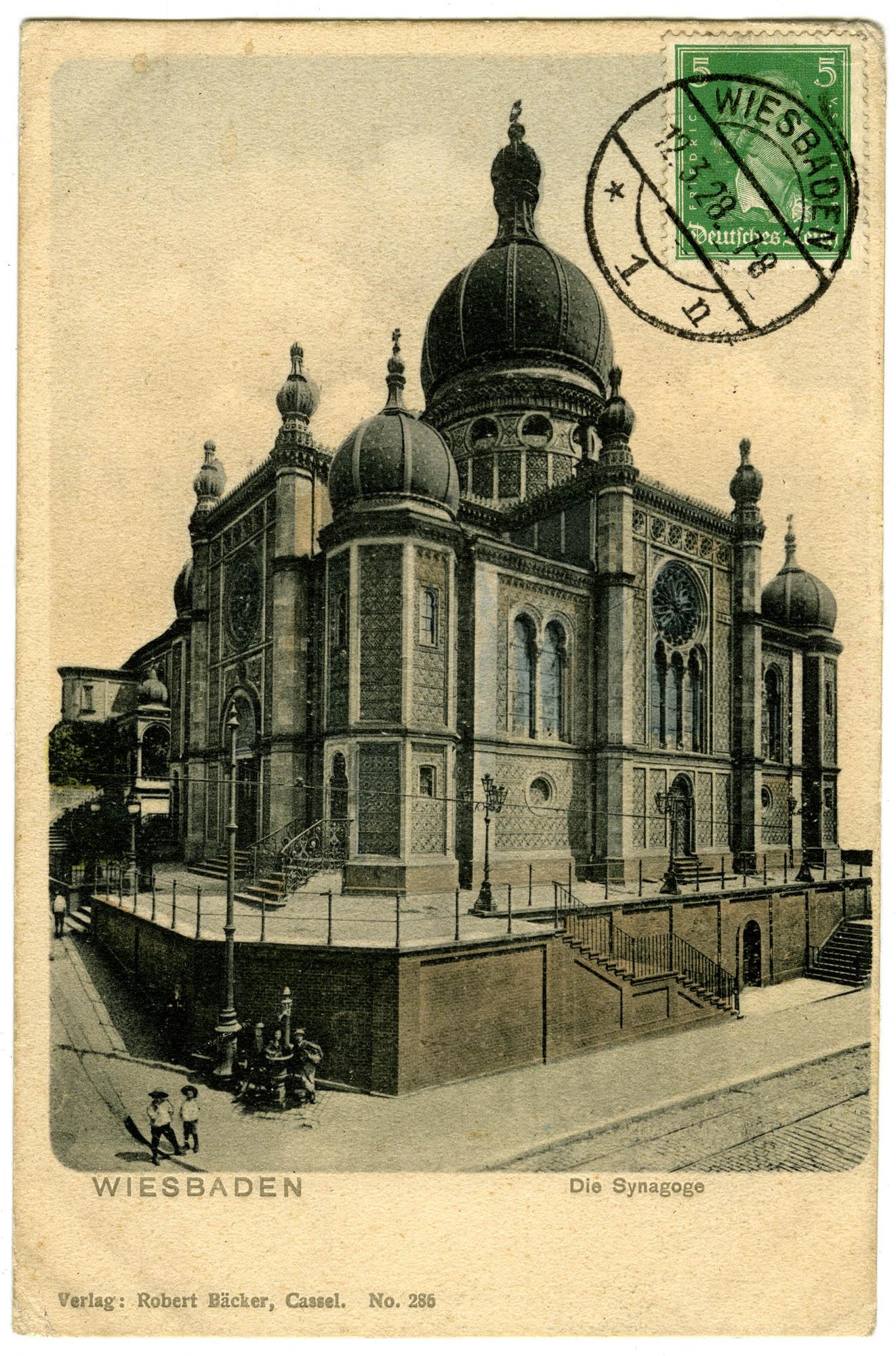 Wiesbaden, Die Synagoge