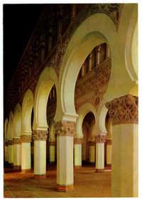 Toledo. Sinagoga Sta. M. La Blanca. / Synagogue Sta. M. La Blanca. / St. M. La Blanca Synagogue.