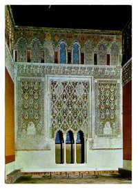 Toledo. Sinagoga del Tránsito. / Synagogue du Transito. / Transit Synagogue.