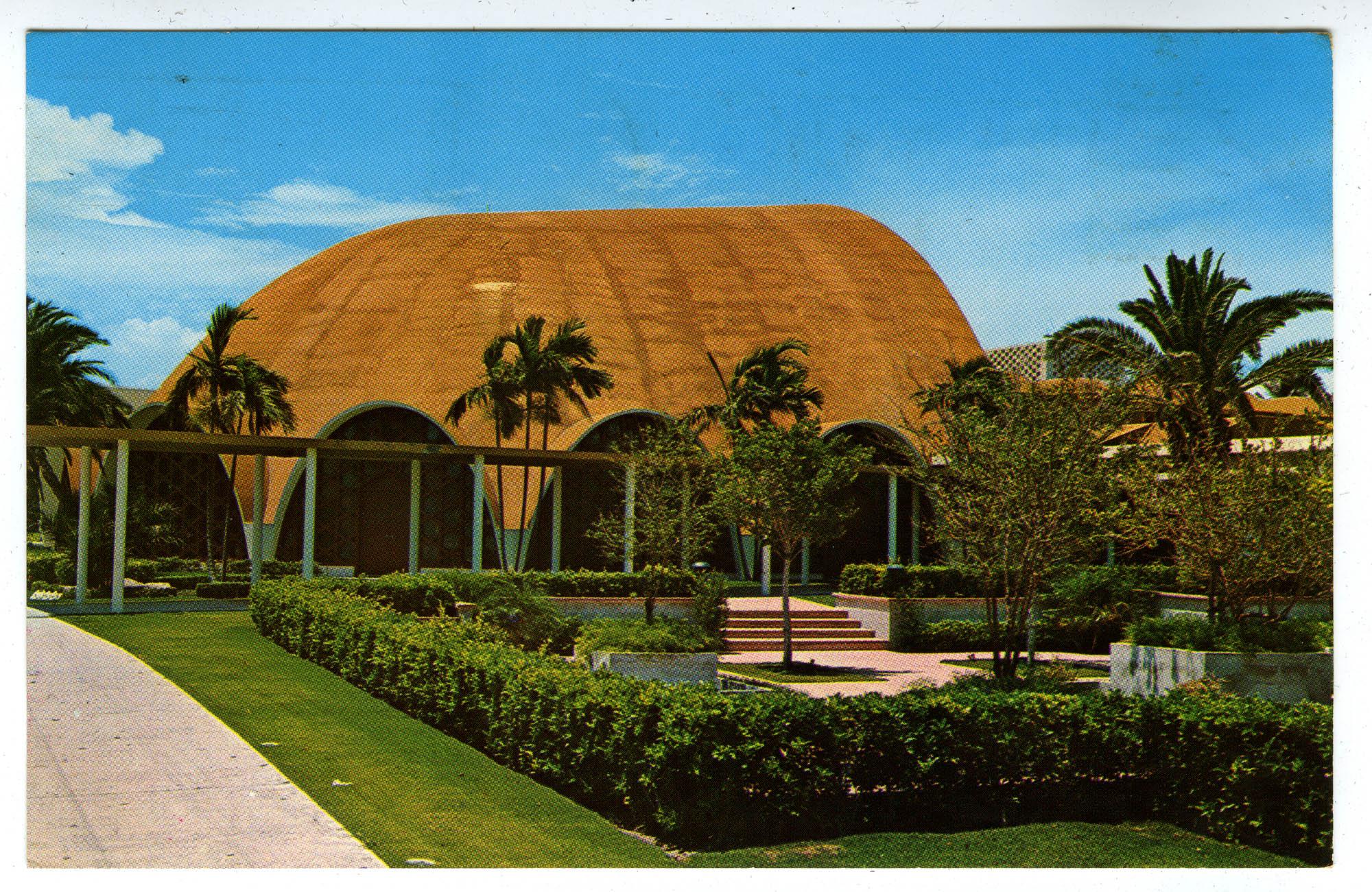Temple Beth Sholom, Miami Beach, Florida