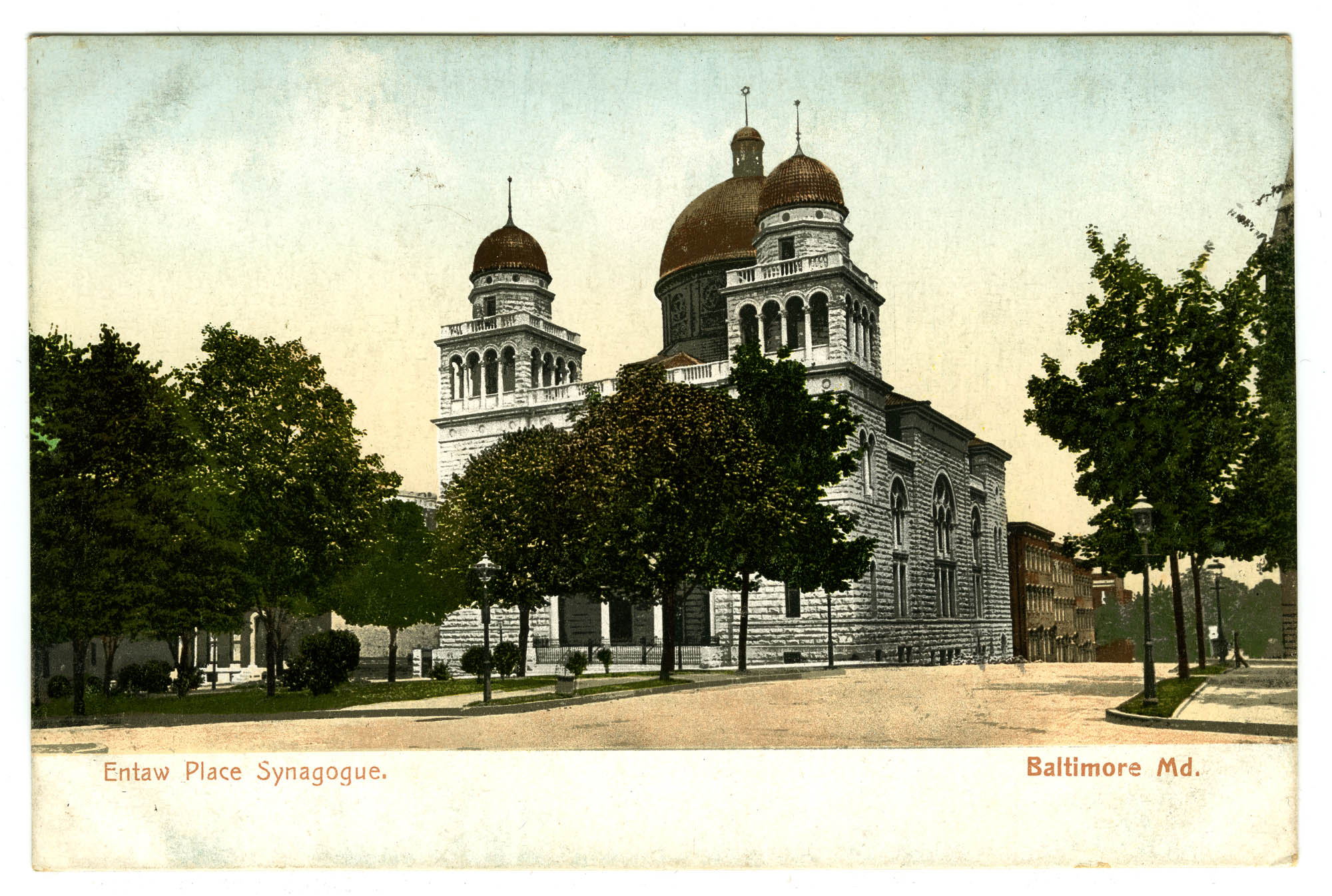 Eutaw Place Synagogue. Baltimore, Md.