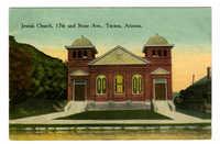 Jewish Church, 17th and Stone Ave., Tucson, Arizona
