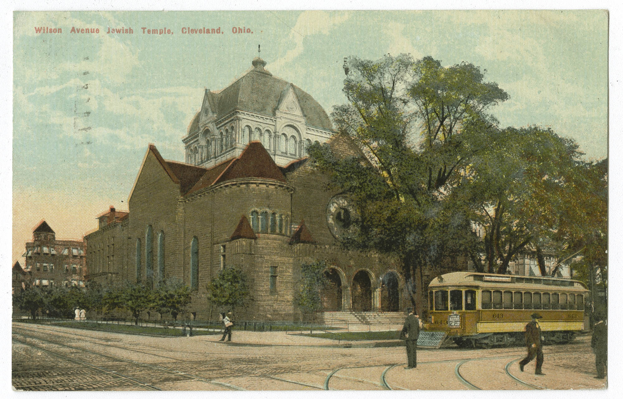 Wilson Avenue Jewish Temple, Cleveland, Ohio