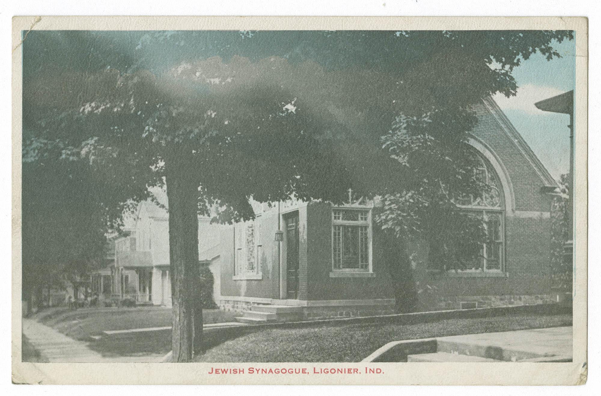 Jewish Synagogue, Ligonier, Ind.