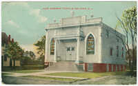 New Hebrew temple, Belmar, N.J.
