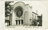 B'nai Israel Temple, 129 South Barry St., Olean, New York
