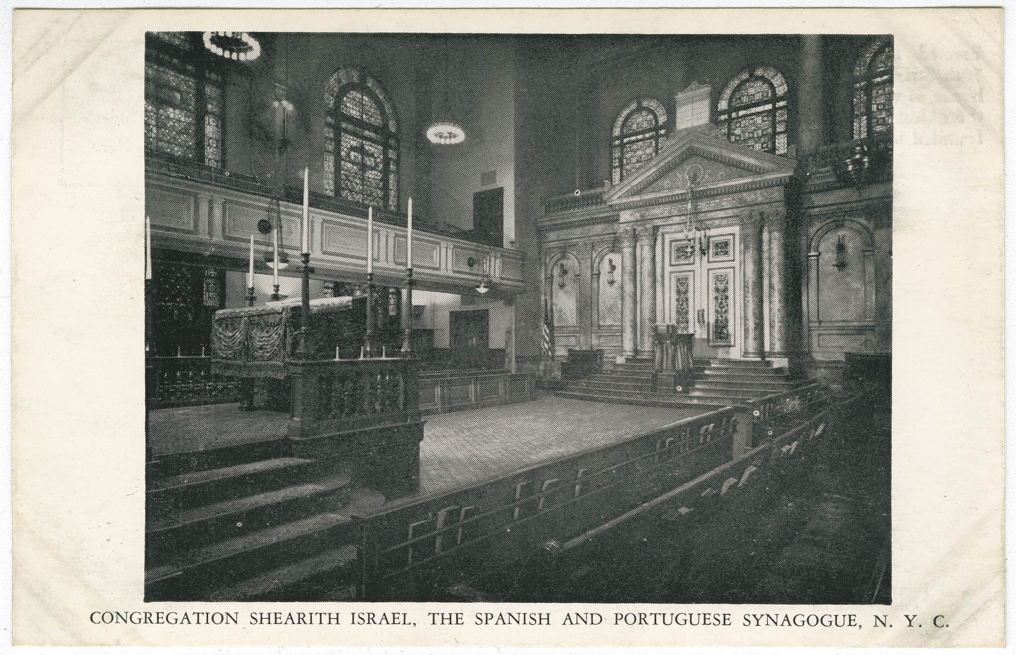 Congregation Shearith Israel, The Spanish and Portuguese Synagogue, N.Y.C.