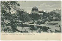 Boys Lake, Central Park and Temple Beth-El, New York City
