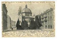 Genève. La Synagogue.