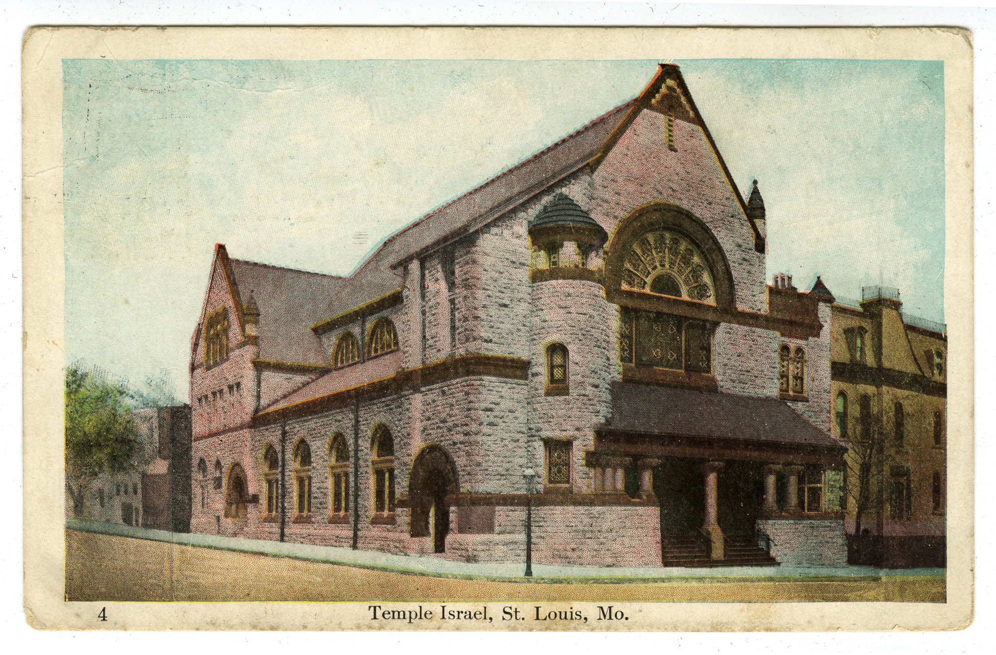 Temple Israel, St. Louis, Mo.