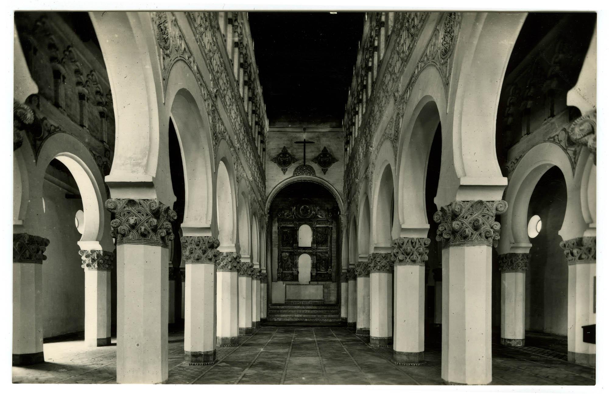 Toledo. Santa María la Blanca (siglo XIII) / Sainte Marie la Blanche (siècle XIII) / Saint Mary the White (XIII century)