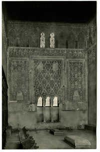Toledo. Sinagoga del Tránsito (siglo XIV) / Synagogue du Transit (siecle XIV) / Synagogue of the Transit (XIV century)