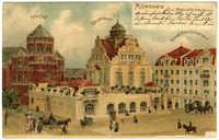 München, Synagoge, Künstlerhaus, Grand Hotel Leinfelder