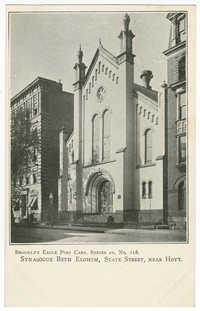 Synagogue Beth Elohim, State Street, near Hoyt