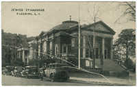 Jewish synagogue, Flushing, L.I.