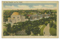 Mt. Sinai Hospital, and the Temple