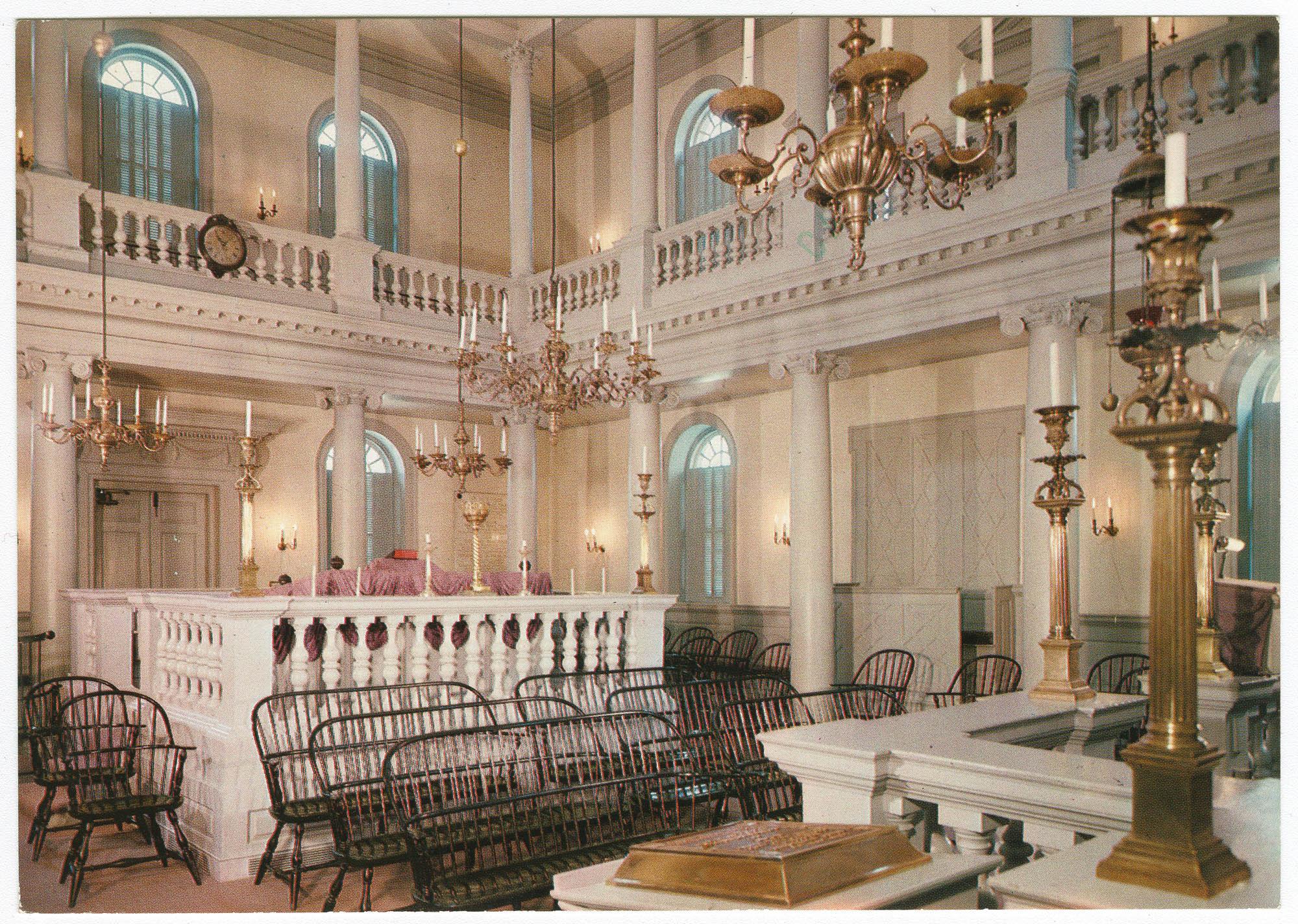 Touro Synagogue - Newport, R.I.