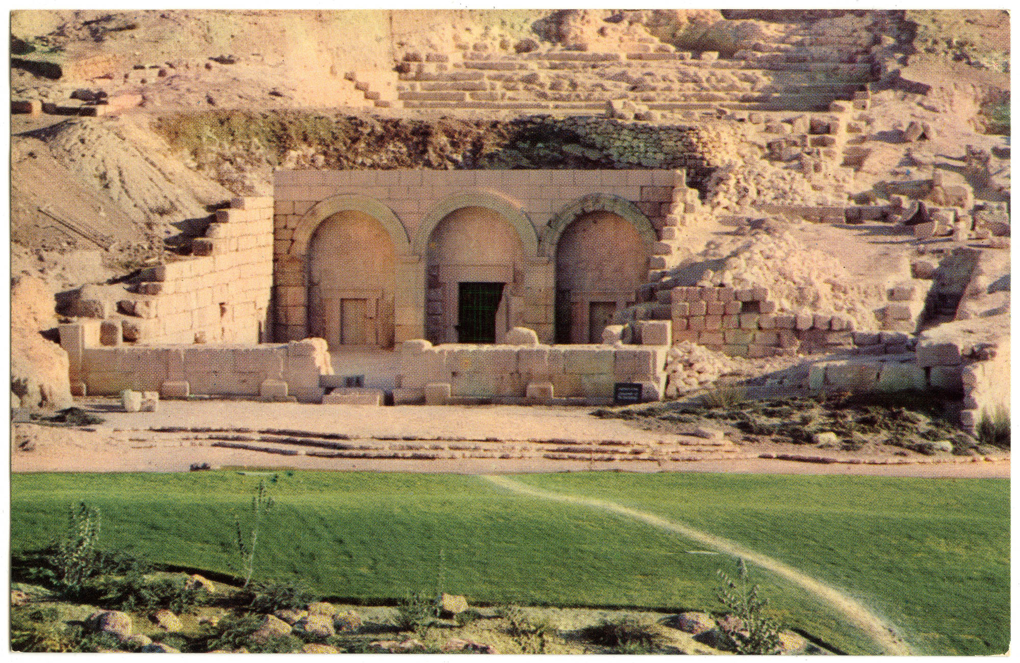 בית שערים (קרית טבעון), הכניסה למערת הקברים / Beth Shearim (Kiryat Tiv'on), entrance to the catacombs