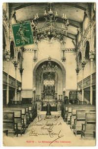 Reims - La Synagogue (Vue intérieur)