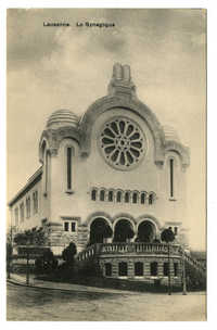 Synagogue La Chaux-de-Fonds, Switzerland, undated