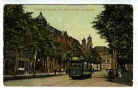 Amsterdam, Jon. Dav. Meier Plein Synagoge