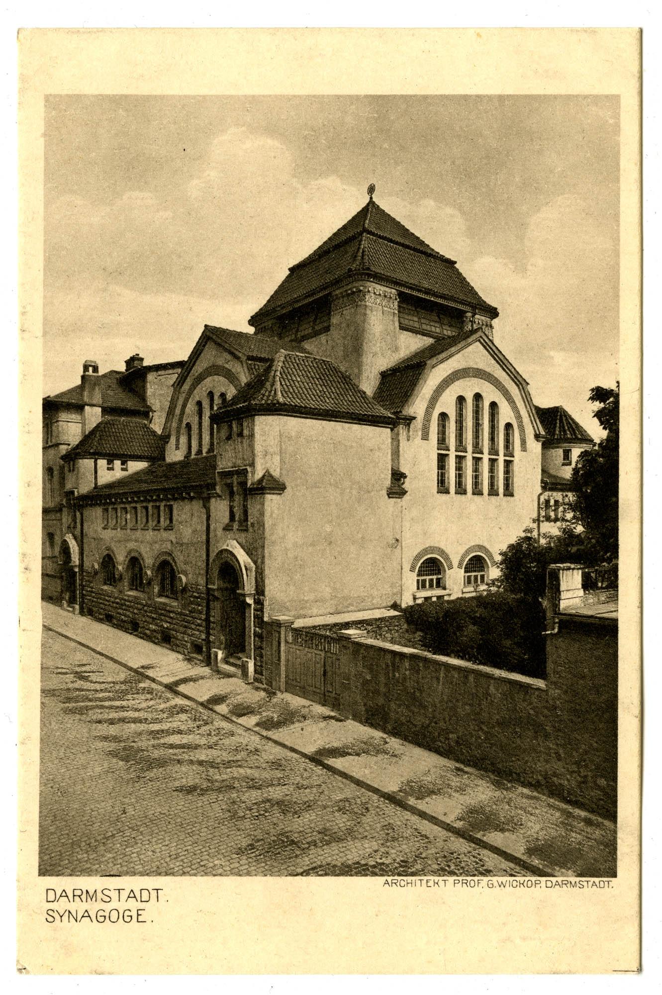 Darmstadt. Synagoge.