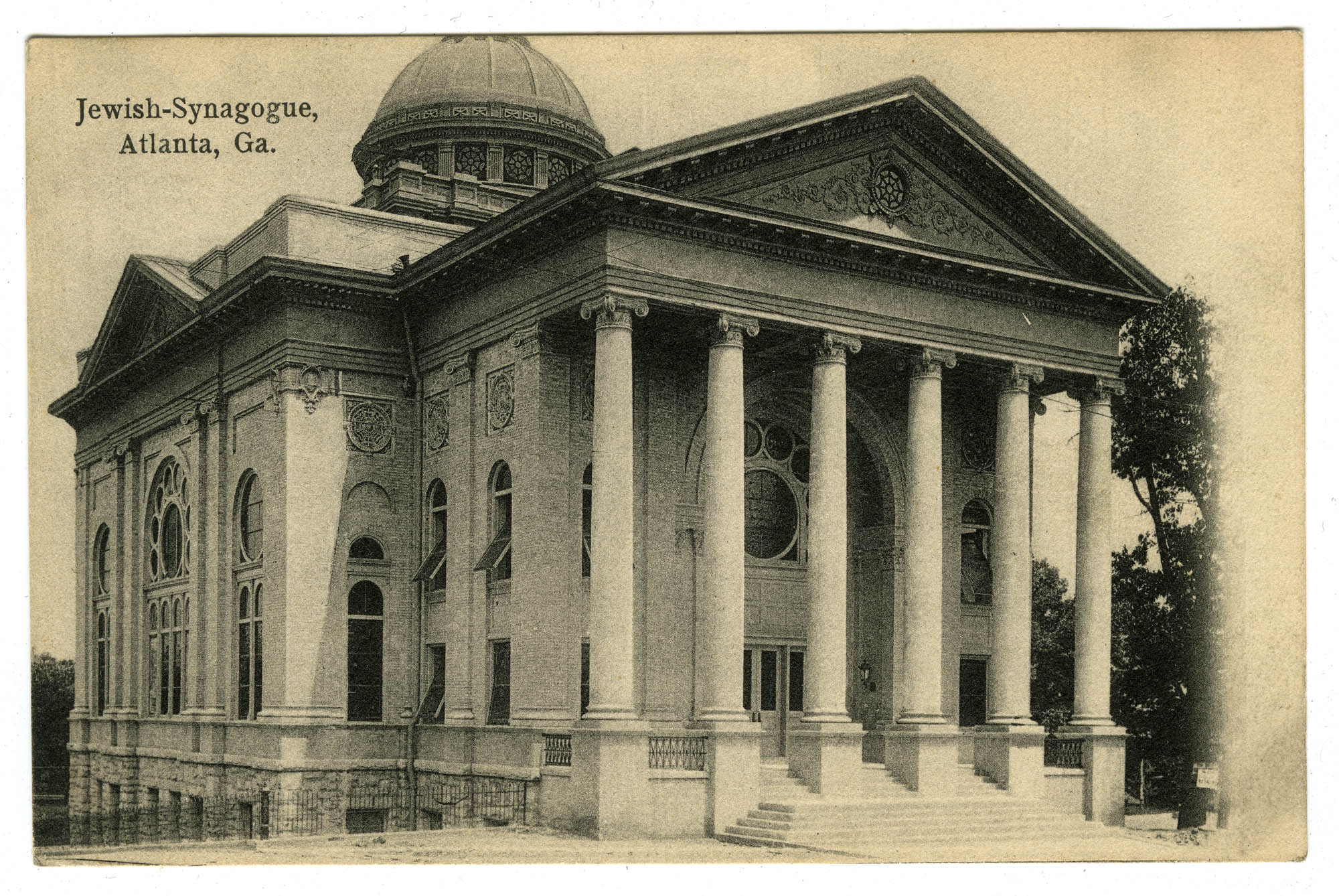 Jewish-Synagogue, Atlanta, Ga.