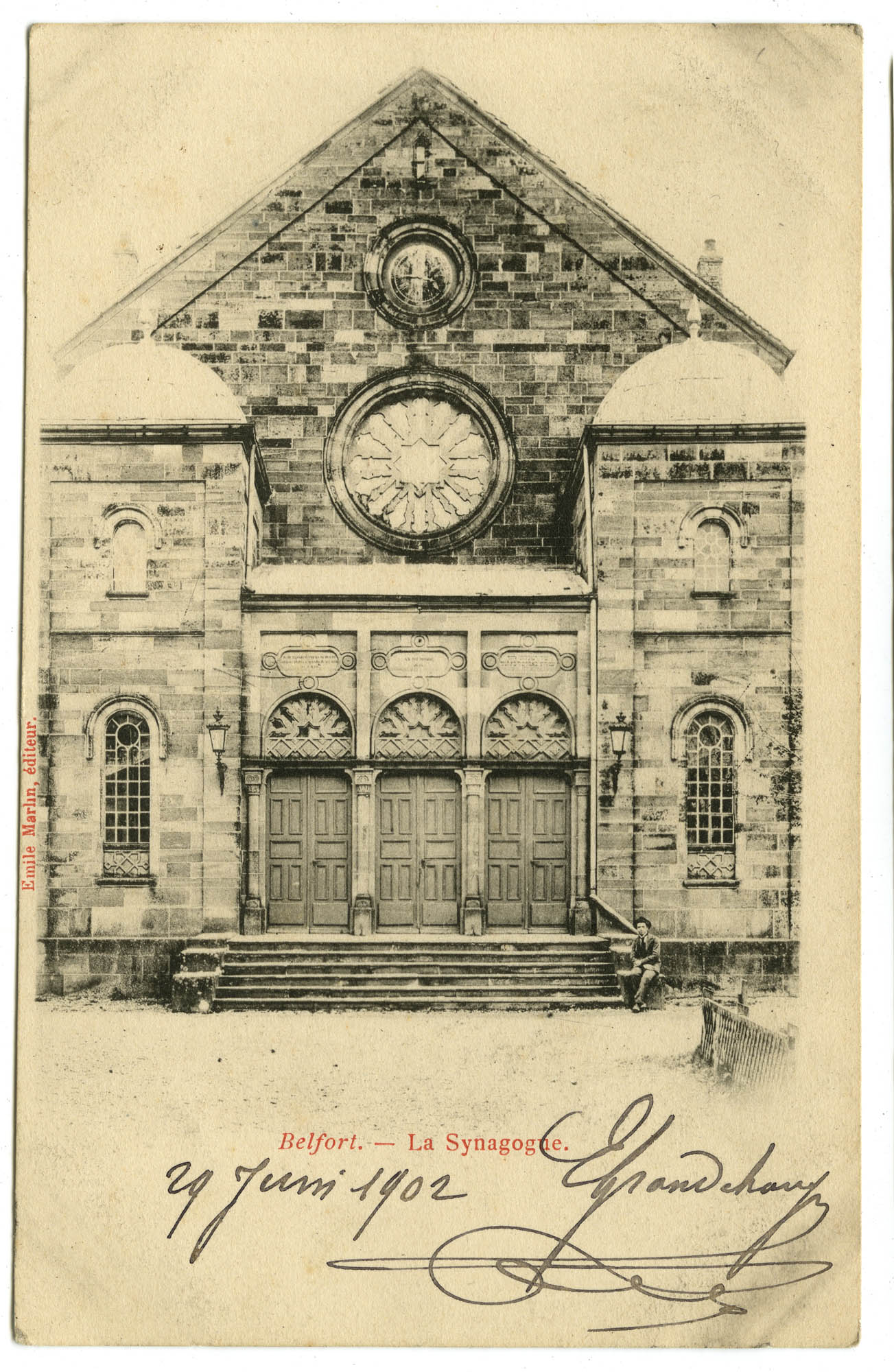 Belfort. - La Synagogue.