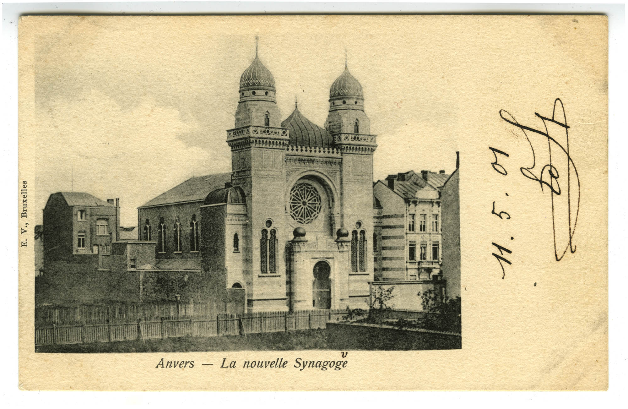 Anvers - La nouvelle Synagoge