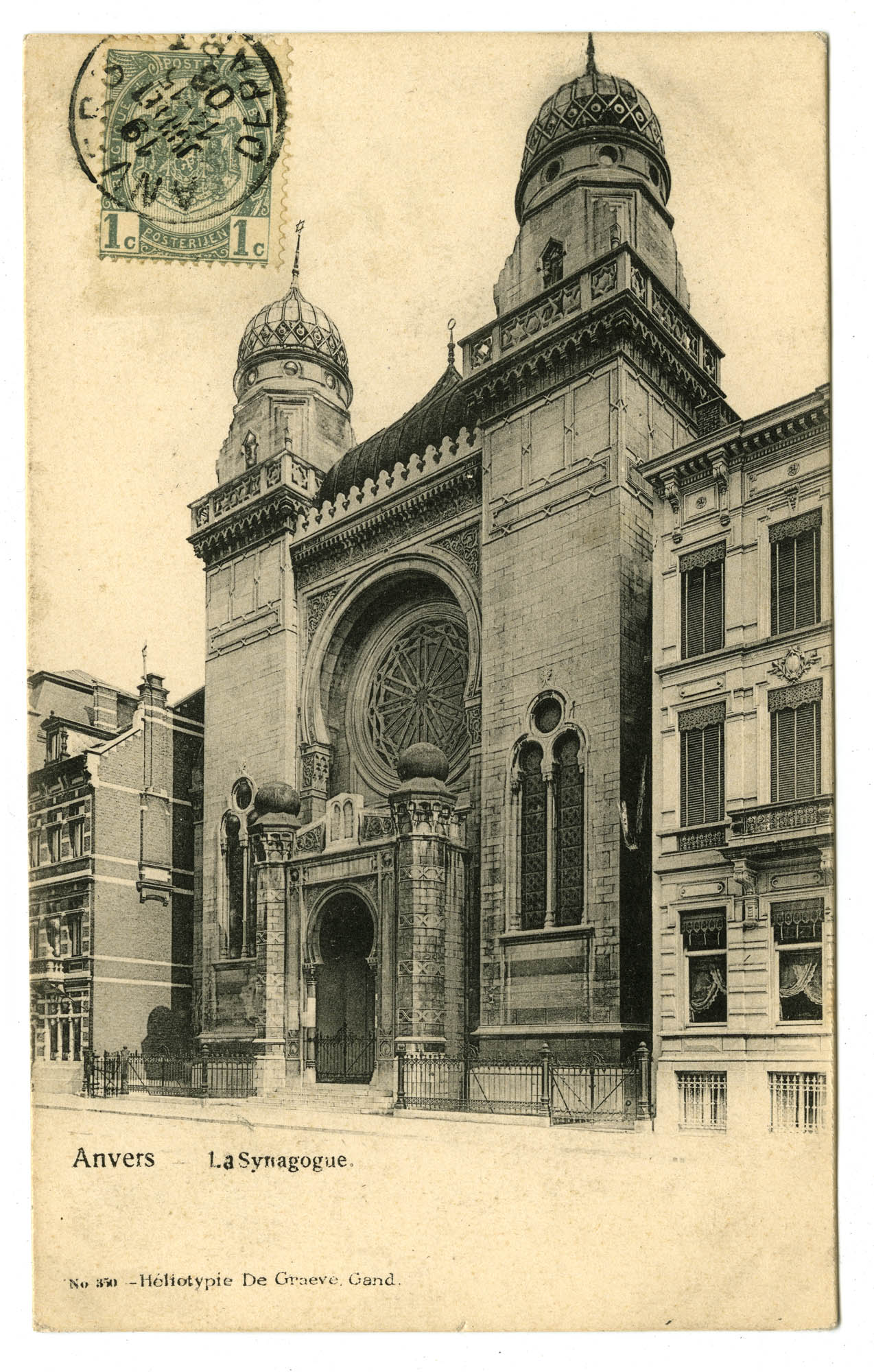 Anvers - La Synagogue