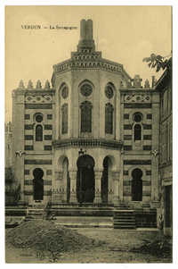 Verdun. - La Synagogue.