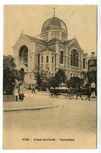 Chaux-de-Fonds. - Synagogue