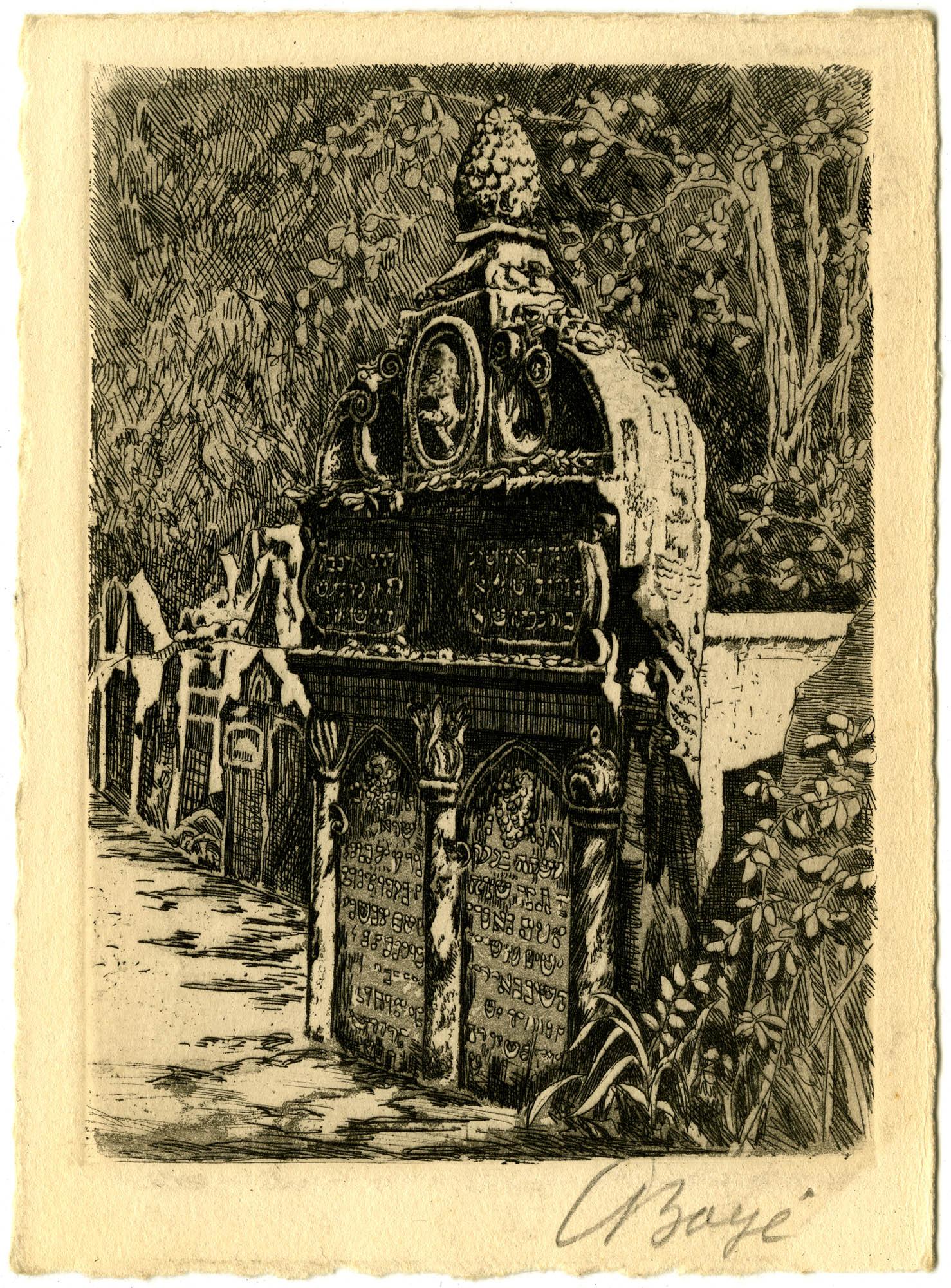 ר' יהודה ליווא בן בצלאל / Vysoký rabí Lev (1609) / Der hohe Rabbi Löw