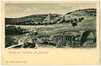 Vallée des tombeaux de Josaphat
