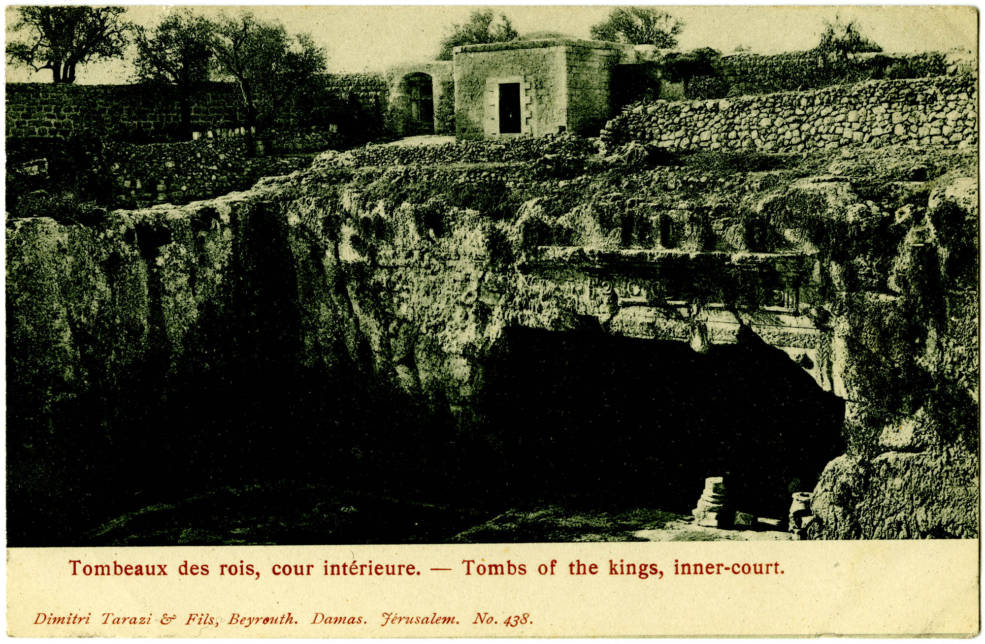 Tombeaux des rois, cour intérieure / Tombs of the Kings, inner court