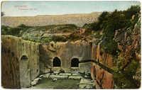 Jerusalem, Tombeaux des rois