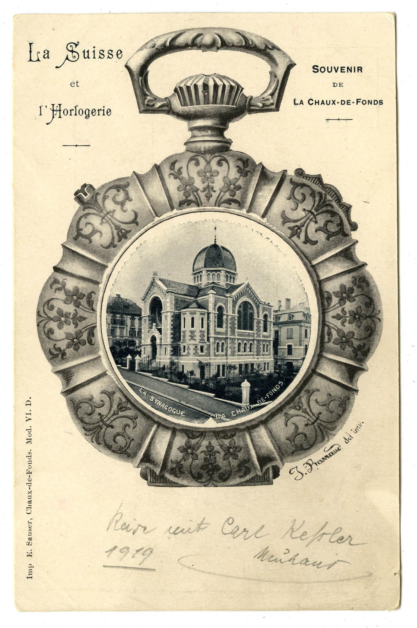 La Synagogue, La Chaux-de-Fonds
