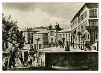 Göteborg, Stora Nygatan år 1859
